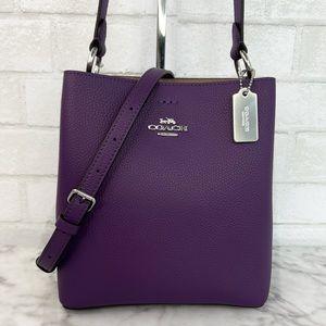 Coach Purple Small Town Bucket Bag Crossbody Shoulder Bag
